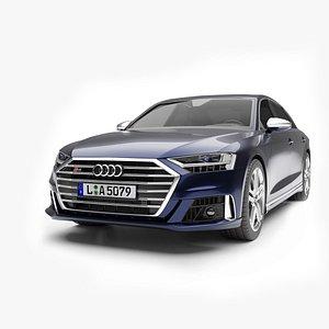 Audi S8 2020 3D model