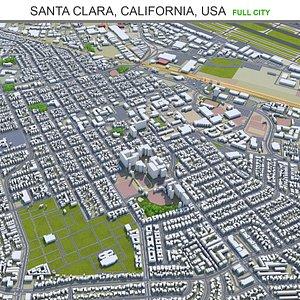 Santa Clara California USA 3D