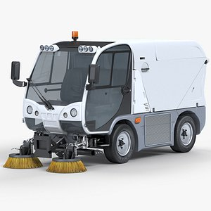 Road Sweeper Ausa W200H 3D
