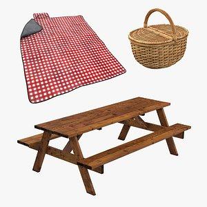 3D 2 picnic accesories