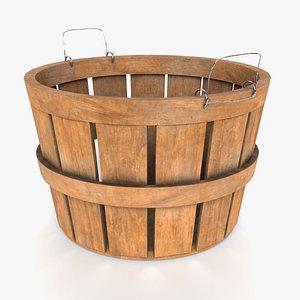 wood basket model