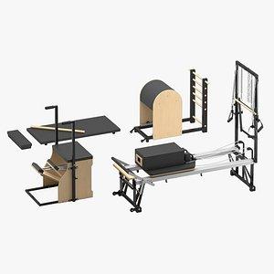 merrithew pilates equipment 3D