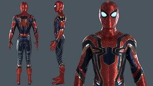 Iron Spiderman 3D model