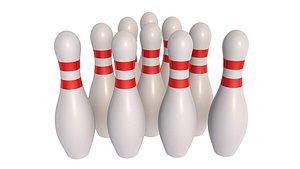 3D model Bowling Pins