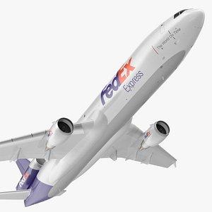 McDonnell Douglas MD11 FedEx Flight 3D model