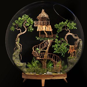 3D florarium