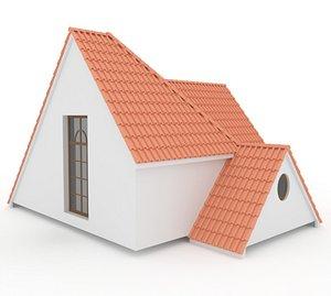 Realistic Roof Shingles 12 model