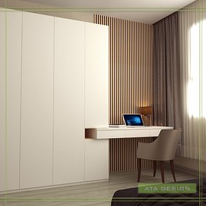 3D young child room