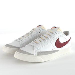 3D model Nike Blazer Low 77 Vintage PBR