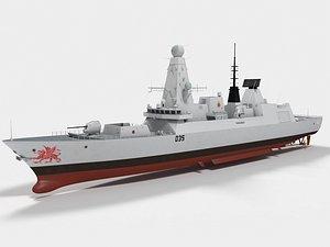 ship dragon 3D
