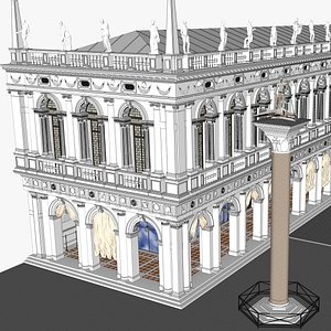 Biblioteca Marciana 3D