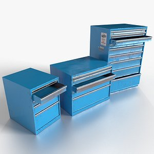 Tool Cabinet 3D