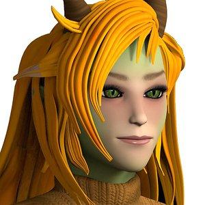 kesrae goblin  character model