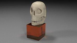 skull jaw 3D model