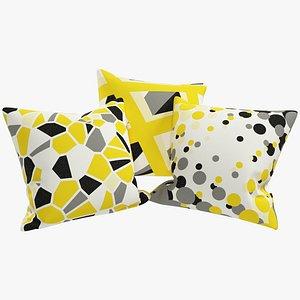 3D Geometric Pillows V2