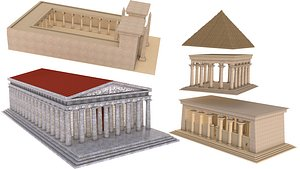 3D Ancient Monuments Collection 1 model