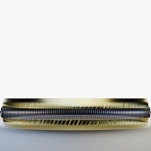 Silver Framed Golden Ring model