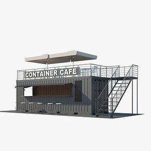 3D Container Café