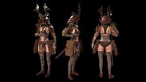Samurai Girl 3D