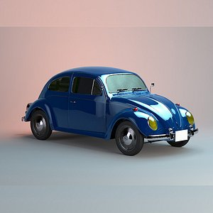 Beetle WV Medium Poly