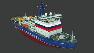 22220 icebreaker arktika 3D