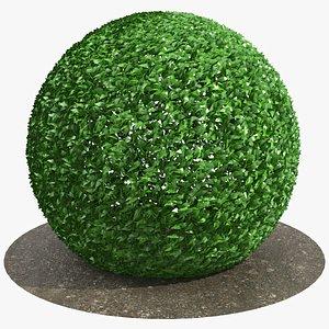 3D model Round Bush 02