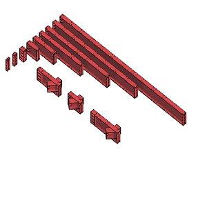 Strut 650 x 300 Package 3D model