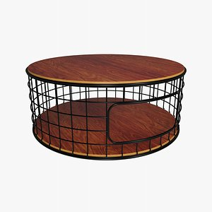 3D Wireframe Coffee Table