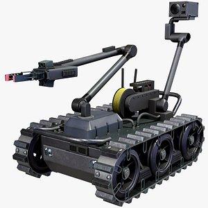 3D Sapper Robot Centaur model