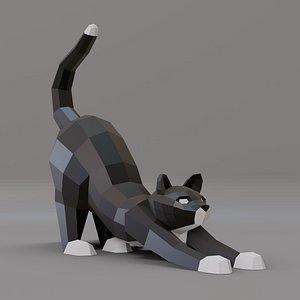 Cat LP 3D model