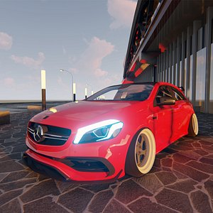Mercedes 2016 AMG A45 3D model