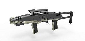 3D Hero MACO Particle Rifle model