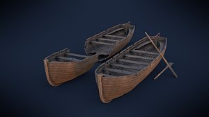 3D model Ships boat
