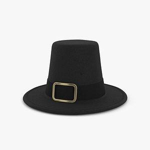 Pilgrim Hat model