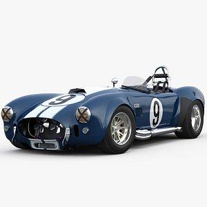 3D model Shelby cobra 427 R