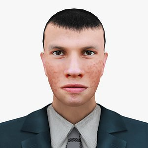 MAN 52 - WITH 250 ANIMATIONS 3D model