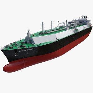 tanker creole spirit 3D model