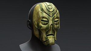 Skyrim Dragon Priest Mask - Otar 3D model
