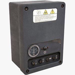 3d model mechanical box