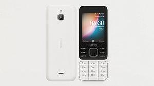 3D electronic phone cellular model
