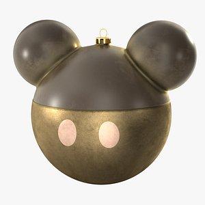 christmas ball mickey mouse 3D model