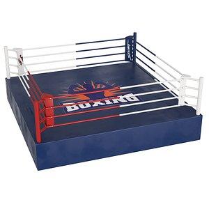 3D ring boxing model