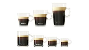 3D Cups with Nespresso Coffee model