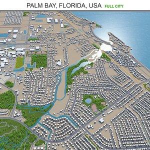 Palm Bay Florida USA model