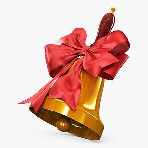 christmas bell v 1 3D model