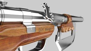 GunMK 3D model