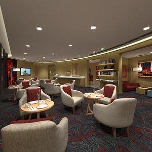 3D Lobby Lounge