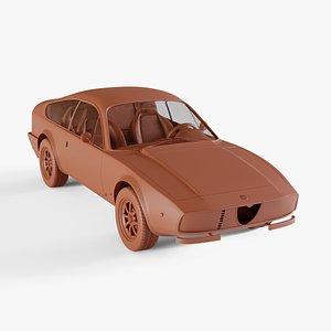 3D alfa-romeo gt 1600 junior