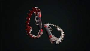 3D Post Apocalyptic Knuckle
