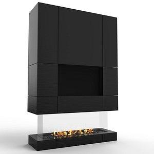 Fireplace Cecconi 3D model